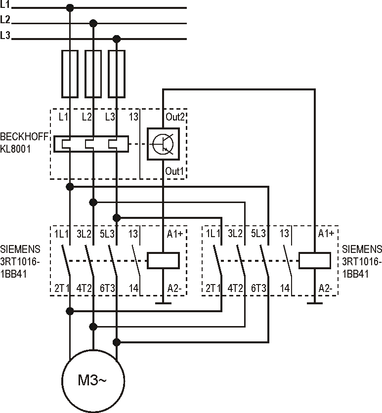 Forward Reverse Contactor Wiring Diagram